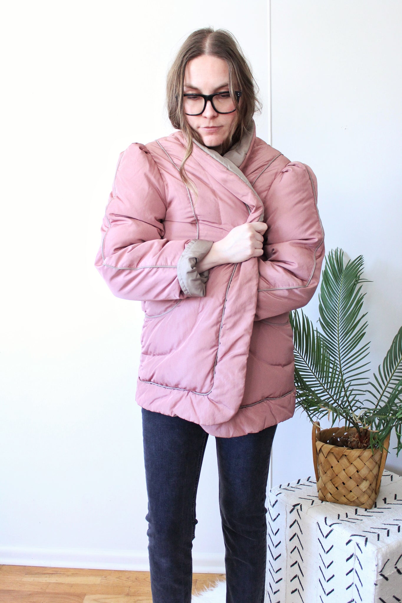 Dusty Rose Coat
