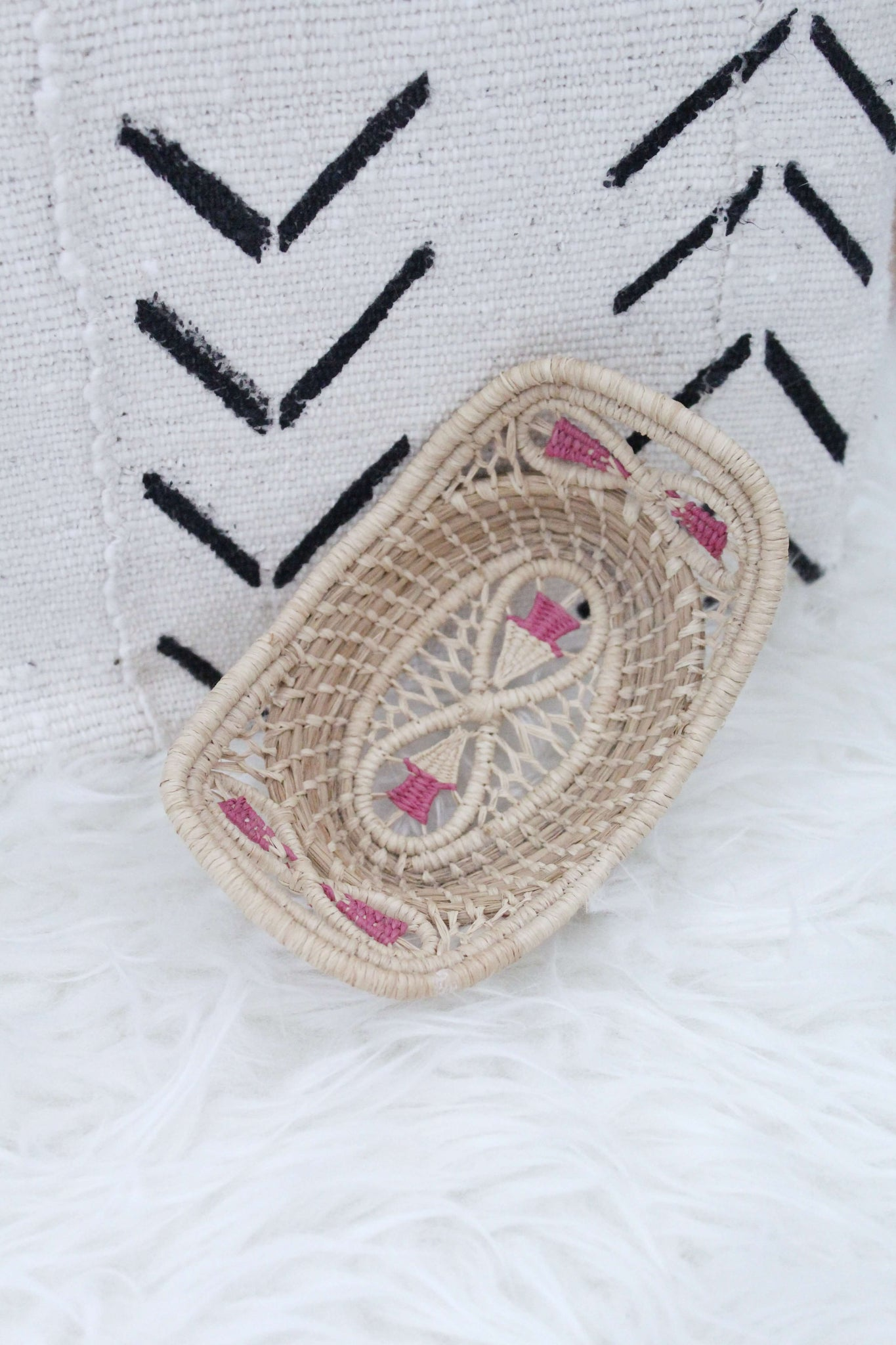 Woven Mini Tray, Home Accessories, Bedroom Decor, Home Decor - elizabeth o. vintage