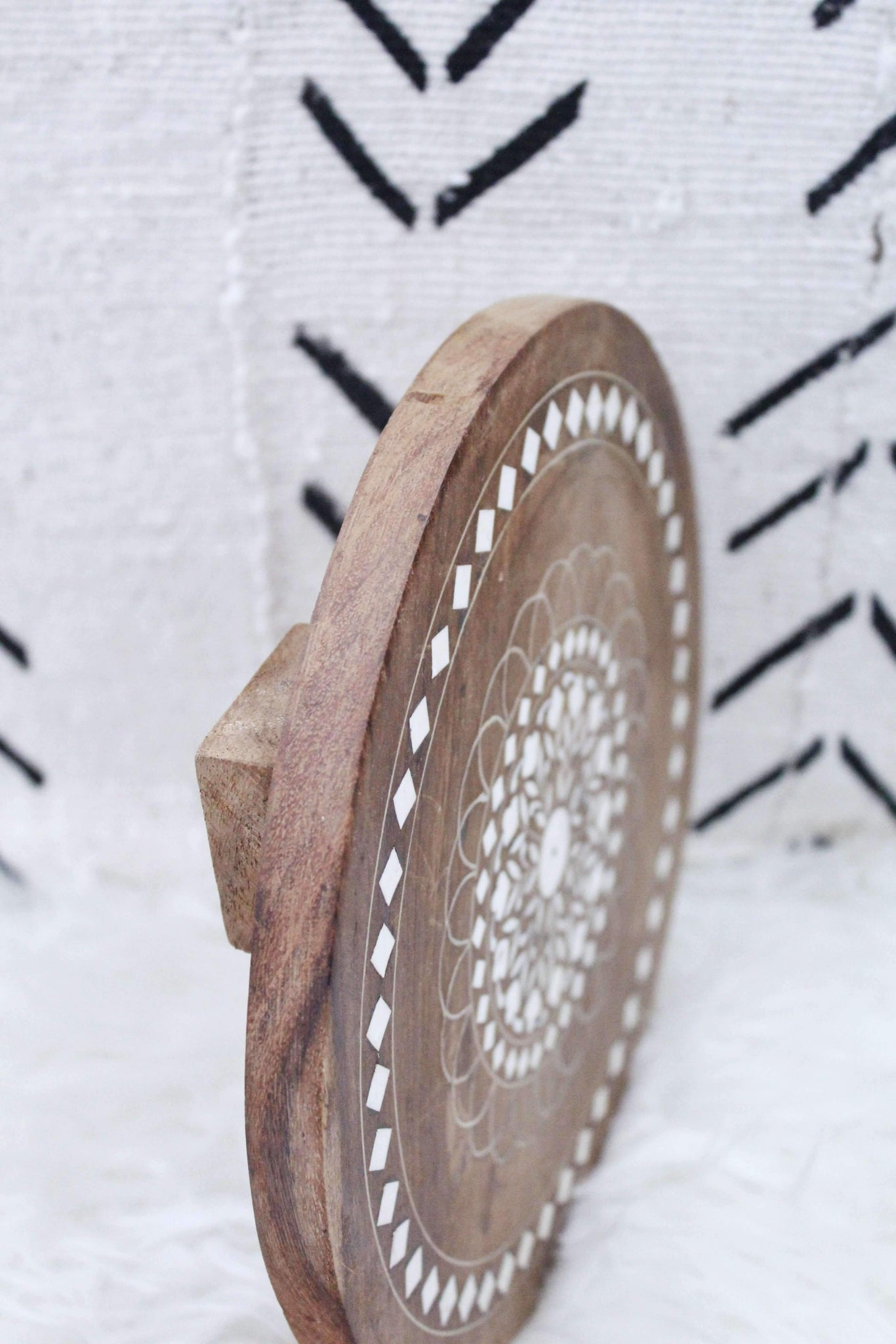 Wooden Decorative Disk, Home Decor, Room Decor, Home Accessories - elizabeth o. vintage