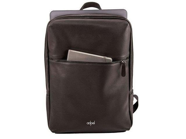 Adpel Torino Genuine Leather Laptop Backpack - Mirelle Leather and Lifestyle