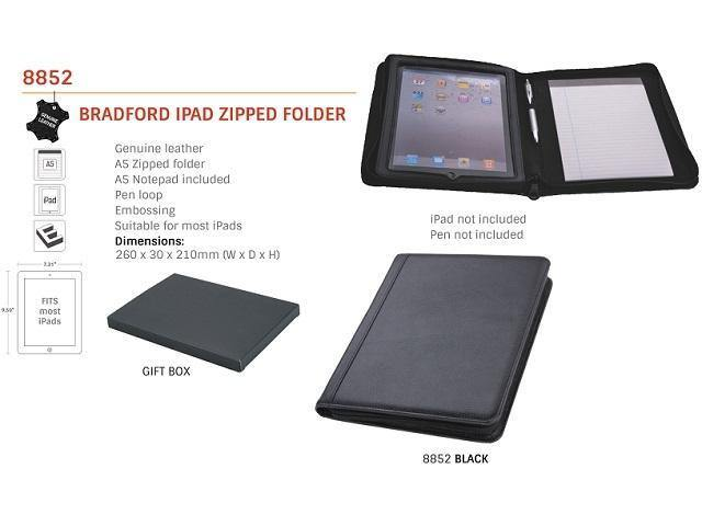 Bradford Ipad Folder - Mirelle Leather and Lifestyle