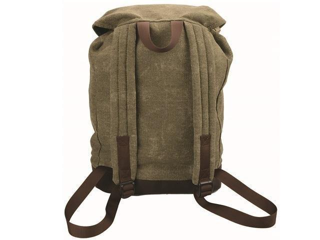 Canvas And Leather Back Pack - Mirelle Leather and Lifestyle
