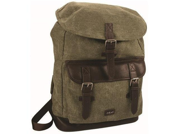 Canvas and Leather Back Pack - Mirelle Leather & Lifestyle
