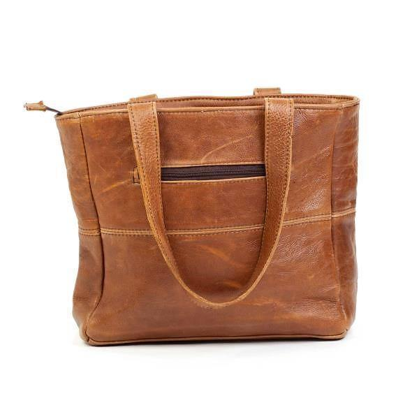 Mirelle Leather Shopper With Outside Zip & Ideal Ladies Wallet - *Combo Deal - Mirelle Leather and Lifestyle