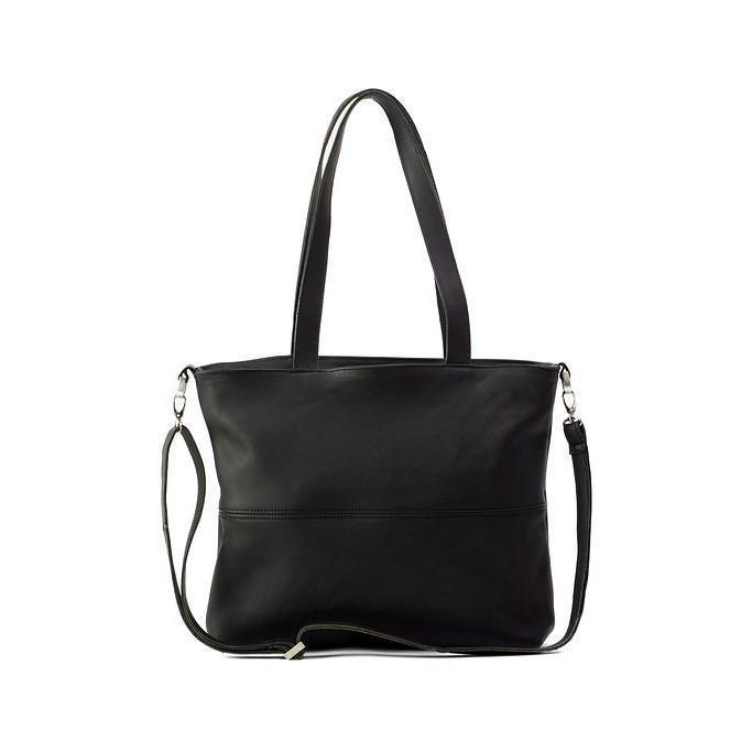 Emily Louise Genuine Leather Jennifer Handbag - Black - Mirelle Leather and Lifestyle
