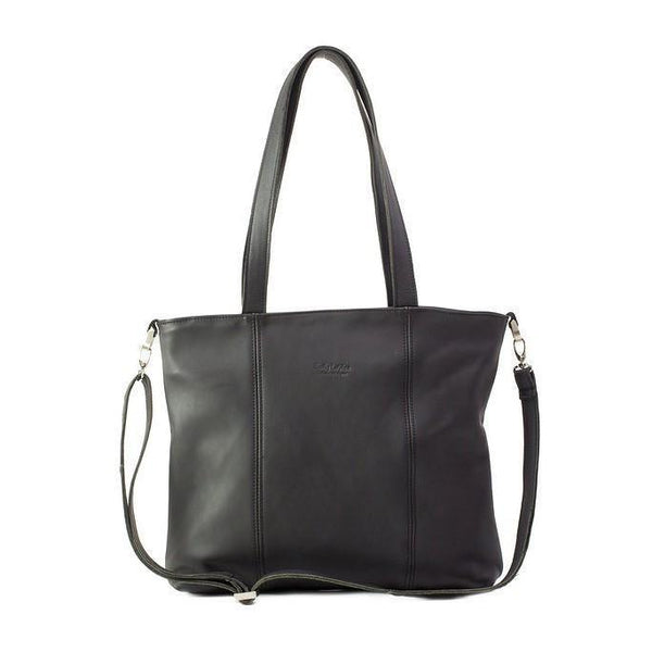 Emily Louise Genuine Leather Jennifer Handbag - Black - Mirelle Leather & Lifestyle