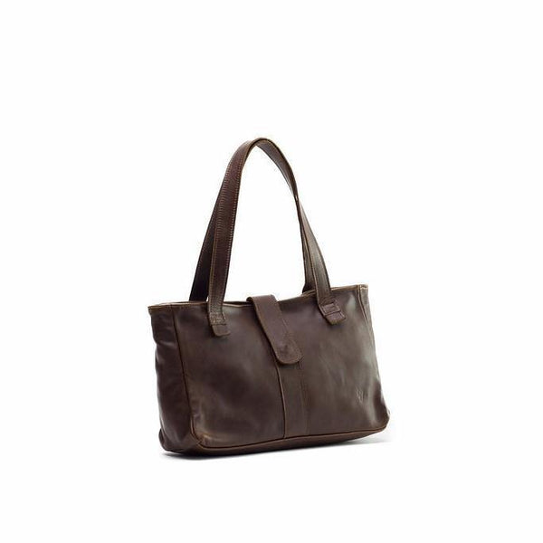 Emily Louise Leather Lulu Handbag -Tobacco - Mirelle Leather and Lifestyle