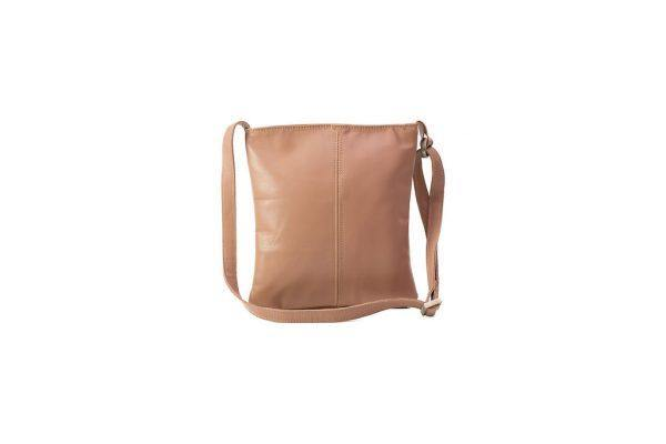 Emily Louise Small Leather Messenger - Dusty Pink - Mirelle Leather and Lifestyle