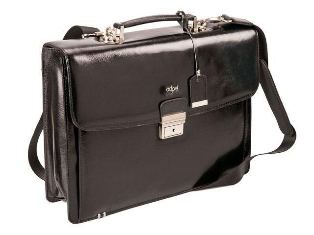 Fabio Genuine Leather Laptop Briefcase - Mirelle Leather and Lifestyle