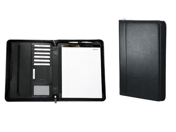Genuine Leather A4 Zip Around Folder - Mirelle Leather & Lifestyle