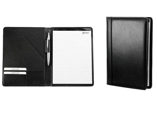 Genuine Leather A5 Two Fold Folder - Mirelle Leather & Lifestyle