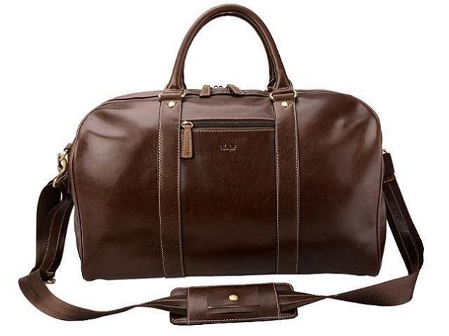 Genuine Leather Adpel Panema Travel Bag - Mirelle Leather and Lifestyle