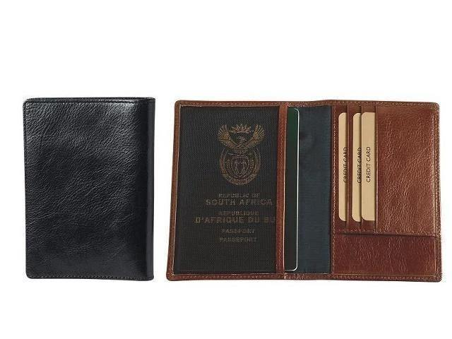 Genuine Leather Adpel Passport Holder Cover - Mirelle Leather and Lifestyle