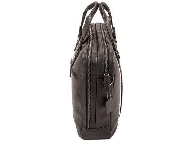 Genuine Leather Alba Laptop Bag - Black - Mirelle Leather and Lifestyle