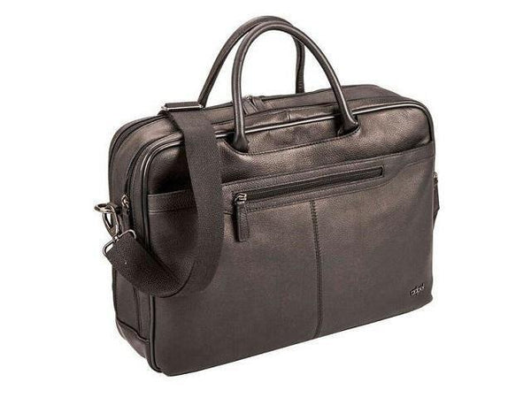 Genuine Leather Carry Handle Laptop Computer Bag - Mirelle Leather & Lifestyle