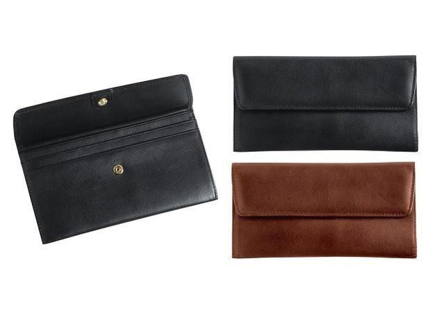 Genuine Leather Classic Ladies Purse - Mirelle Leather & Lifestyle