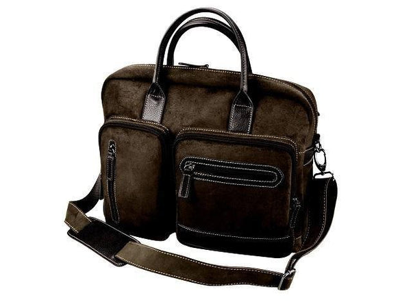 Genuine Leather Executive Computer Bag - Mirelle Leather & Lifestyle