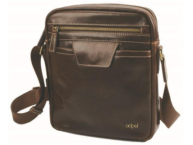 Genuine Leather Lucca Messenger Bag - Mirelle Leather and Lifestyle