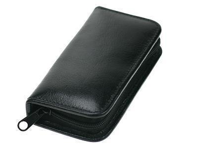 Genuine Leather Manicure Set with Ziparound Pouch - Mirelle Leather & Lifestyle