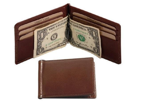 Genuine Leather Money Clip - Mirelle Leather and Lifestyle