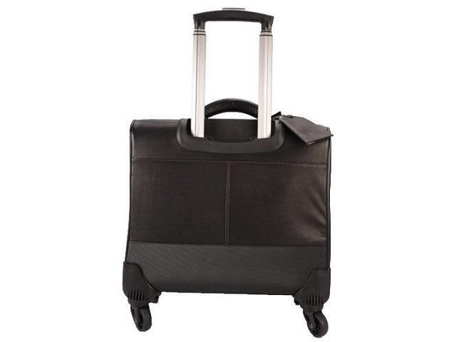 Genuine Leather Office Trolley Laptop Business Bag - Mirelle Leather & Lifestyle