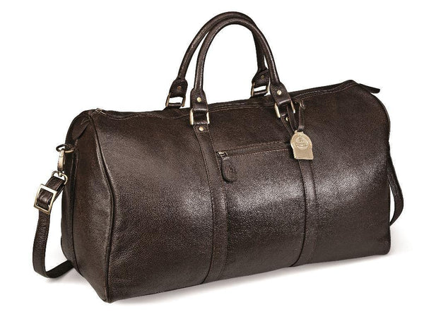 Genuine Leather Overnight Bag - Mirelle Leather & Lifestyle