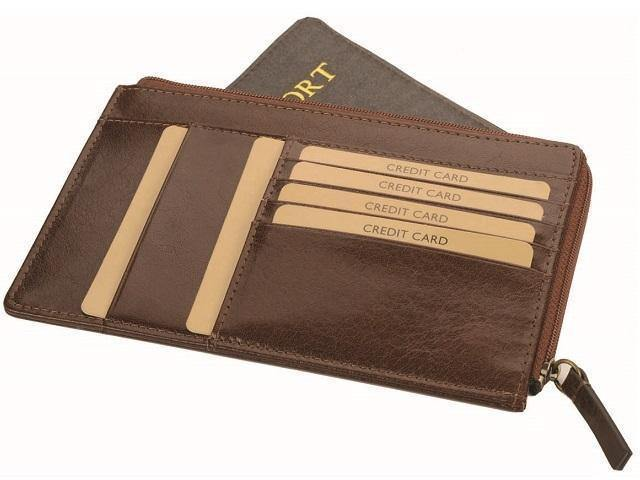 Genuine Leather Passport Book Holder - Mirelle Leather & Lifestyle