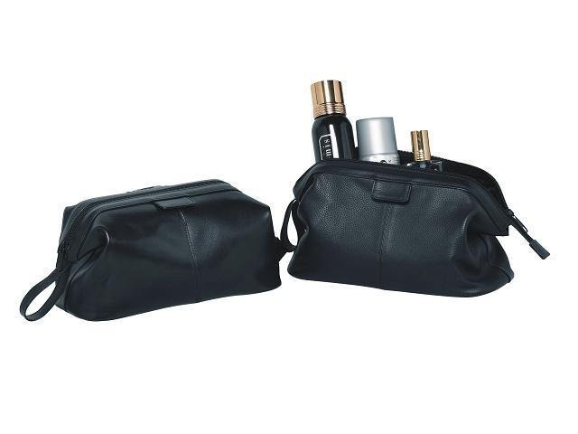 Genuine Leather Toiletry Bag - Mirelle Leather & Lifestyle