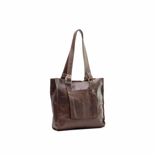Genuine Leather Tote Handbag Small - Black - Mirelle Leather & Lifestyle