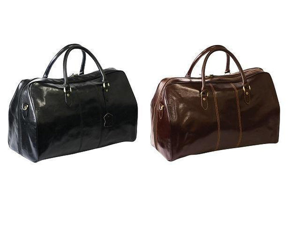 Genuine Leather Travel Bag - Mirelle Leather & Lifestyle