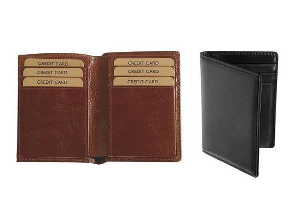 Genuine Leather Two Fold Business Card Holder - Mirelle Leather & Lifestyle