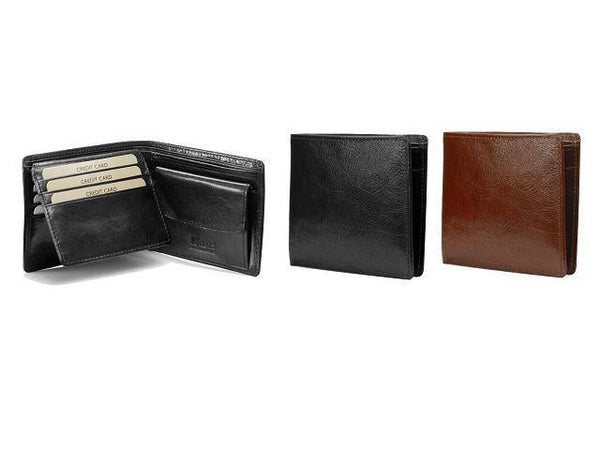 Genuine Leather Wallet Credit Card Flap & Coin Holder - Mirelle Leather and Lifestyle