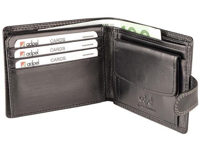Genuine Leather Wallet with Notes, 7 Credit Cards & Coin Holder - Mirelle Leather & Lifestyle