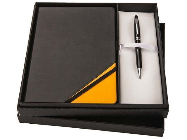 Gift Set * Genuine Leather Notebook and Pen Set - Mirelle Leather & Lifestyle