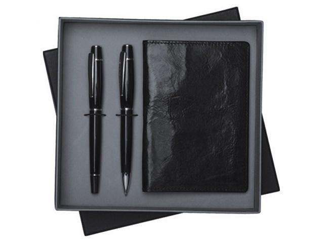 Gift Set * Genuine Leather Passport Holder And Pen Set - Mirelle Leather and Lifestyle