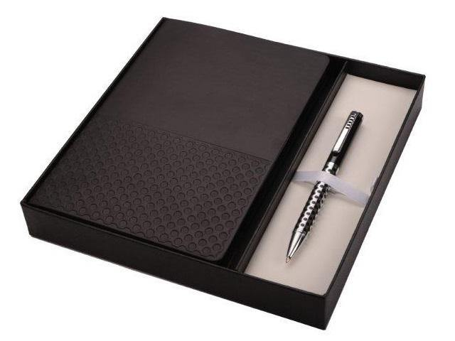 Gift Set * Prestige Notebook and Pen Set - Mirelle Leather & Lifestyle