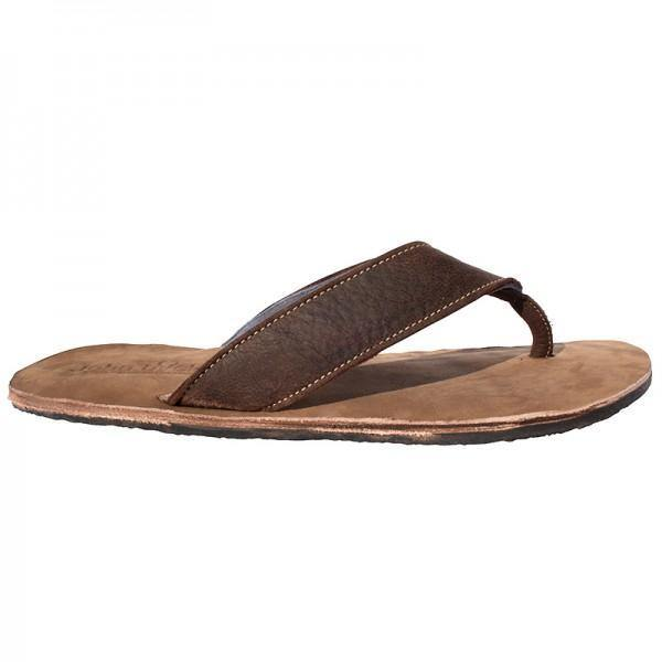 John Buck Brown Leather Slops - Mirelle Leather & Lifestyle