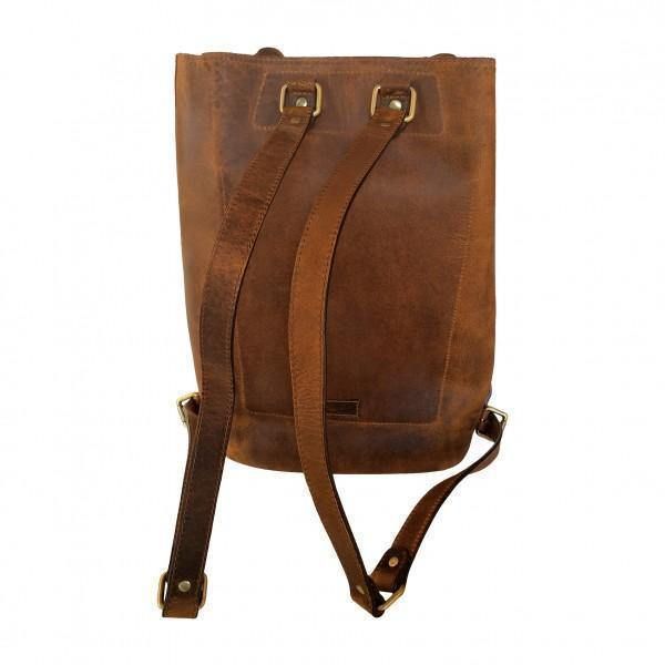 John Buck Genuine Leather Backpack - Mirelle Leather & Lifestyle