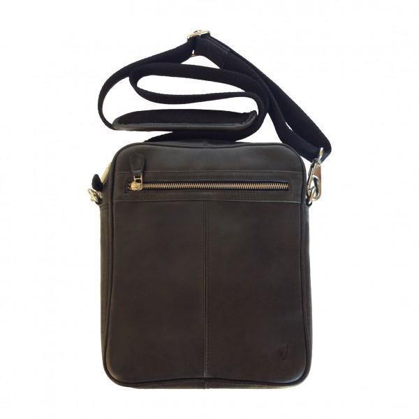 John Buck Genuine Leather Crossbody with Outside Zip - Mirelle Leather & Lifestyle