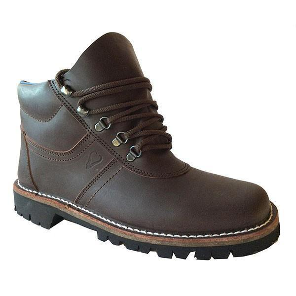 John Buck Genuine Leather Men's Boots - Brown - Mirelle Leather & Lifestyle