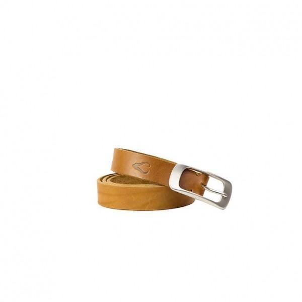 Ladies Leather Belt - Tan - Mirelle Leather and Lifestyle