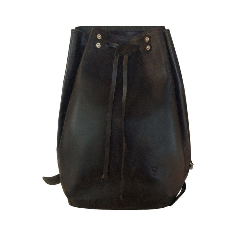Leather Backpack - Black - Mirelle Leather & Lifestyle