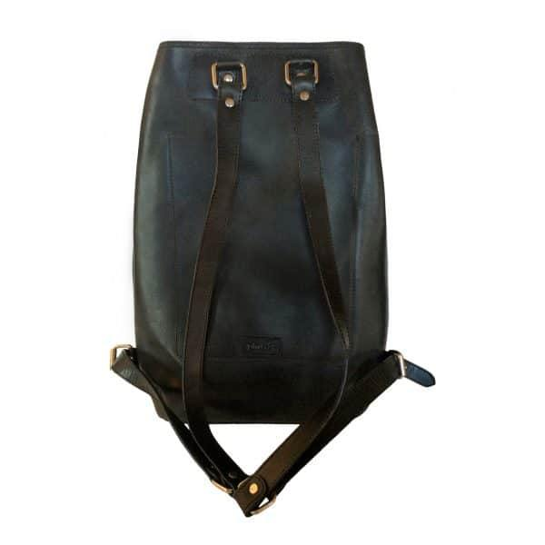 Leather Backpack - Black - Mirelle Leather and Lifestyle