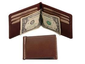 Mens Genuine Leather Money Clip - Mirelle Leather & Lifestyle
