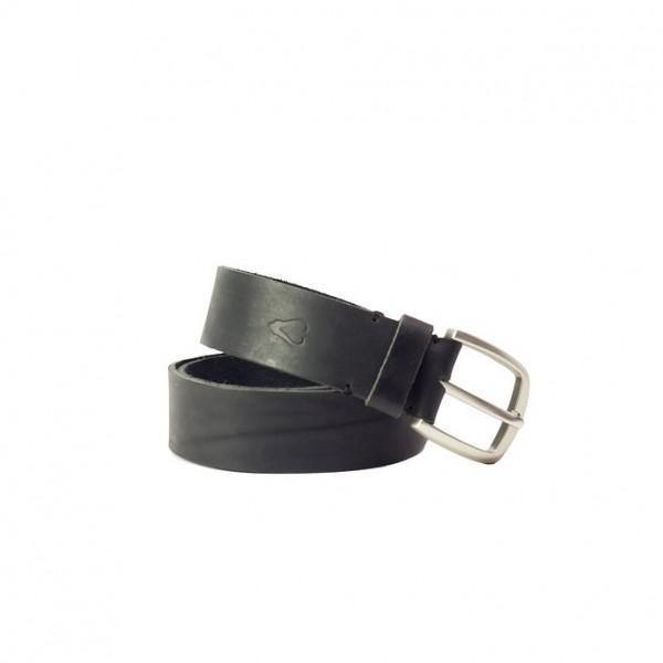 Men'S Leather Belt - Black - Mirelle Leather and Lifestyle