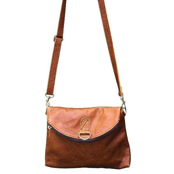 Mirelle Genuine Leather 3-Way Convertible Backpack, Crossbody & Clutch - Mirelle Leather & Lifestyle
