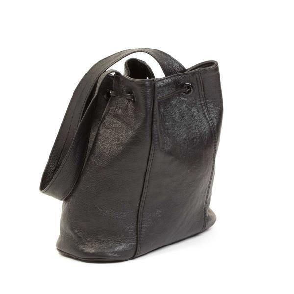 Mirelle Genuine Leather Bucket Drawstring Handbag - Mirelle Leather & Lifestyle