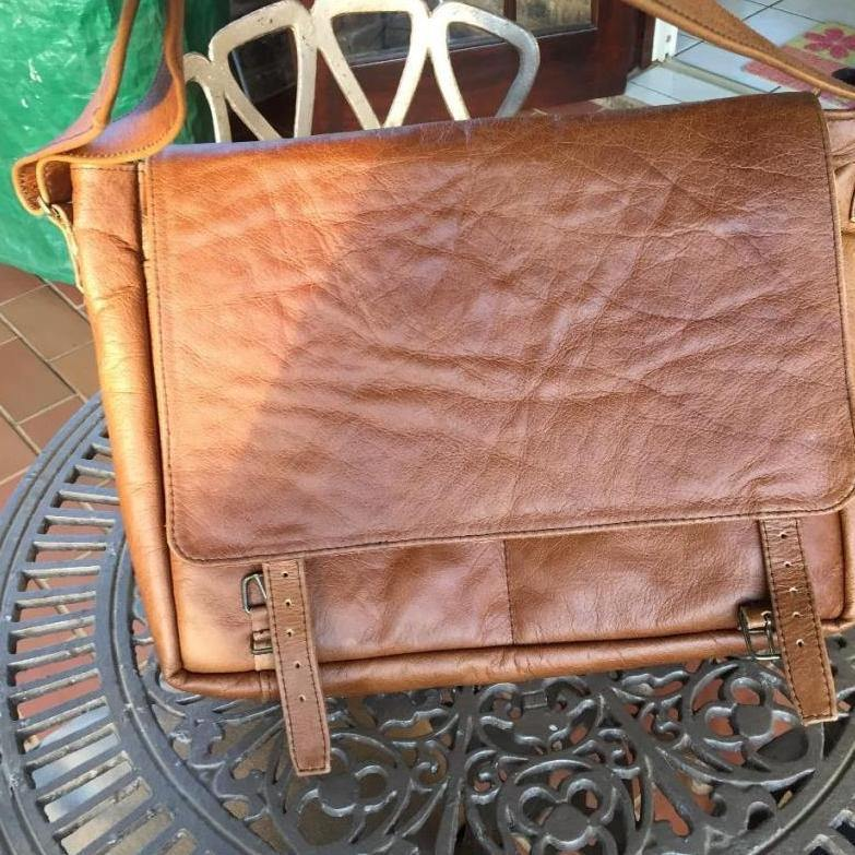 Mirelle Genuine Leather Classic Office Laptop Bag - Mirelle Leather and Lifestyle
