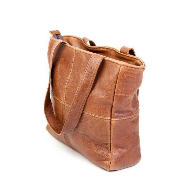 Mirelle Genuine Leather Classic Shopper Handbag - Mirelle Leather & Lifestyle