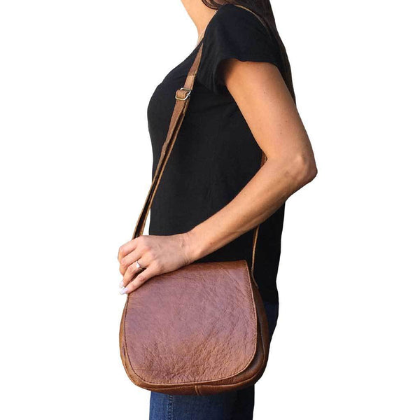 Mirelle Genuine Leather Classic Sling Handbag - Mirelle Leather & Lifestyle